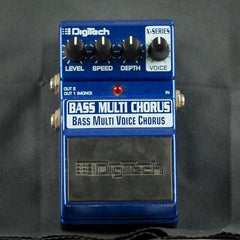 Used DigiTech Bass Multi Voice Chorus