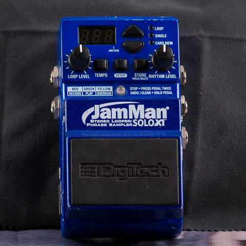 Used DigiTech JamMan Solo XT Effects Pedal, front