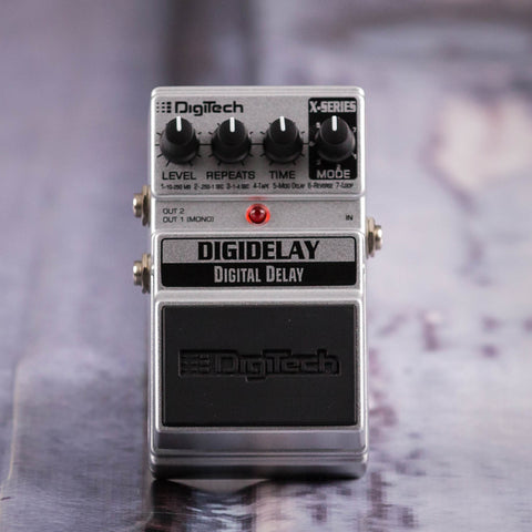 Used DigiTech X Series Digidelay Digital Delay Effects Pedal, front
