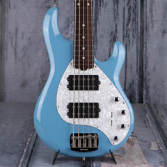 Used Ernie Ball Music Man StingRay 5 5-String Bass, Chopper Blue