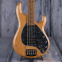 Used Ernie Ball Music Man StingRay 5 5-String Bass, Natural
