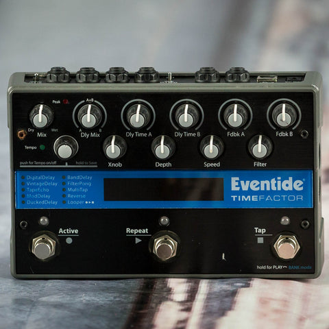 Used Eventide TimeFactor Effects Pedal, front