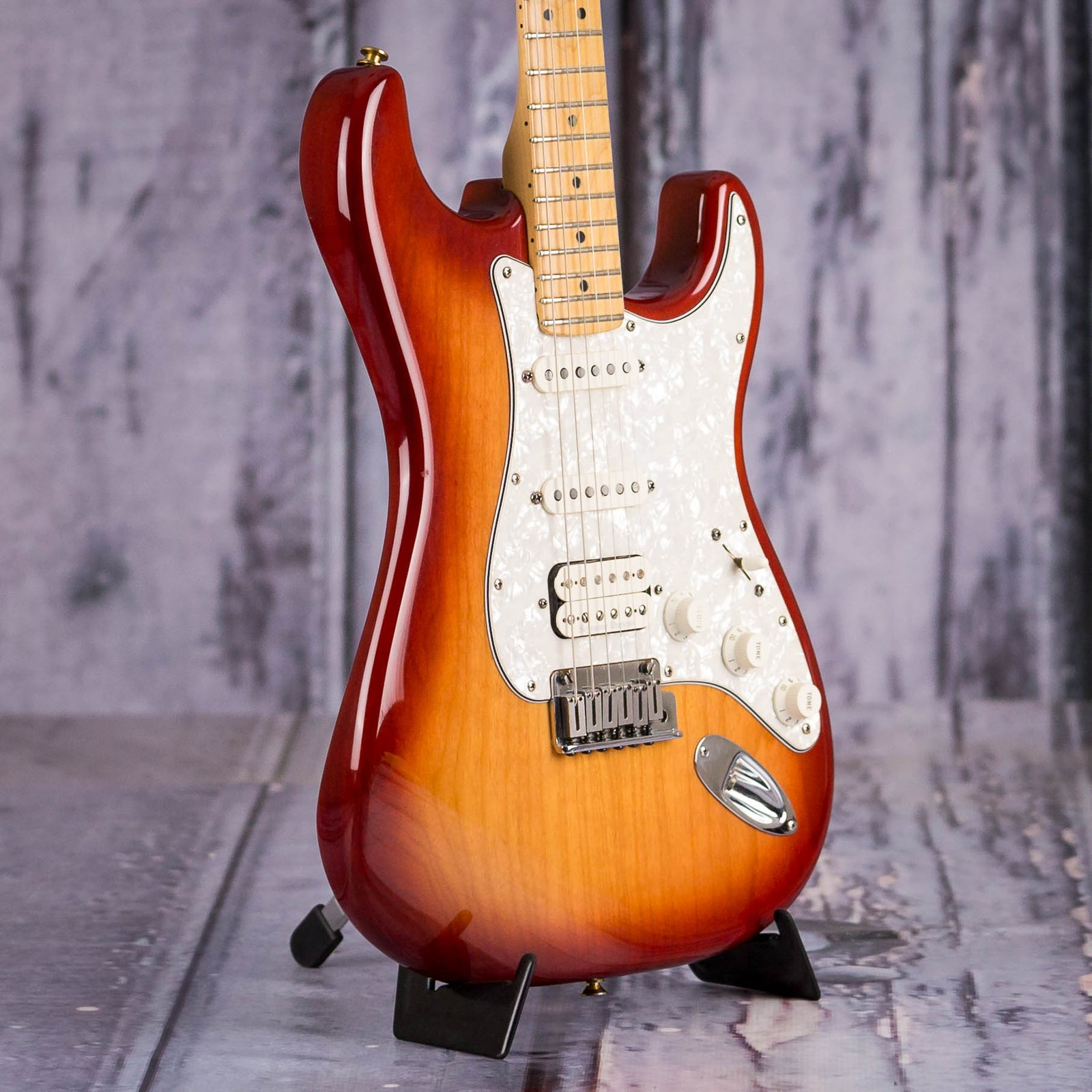 Used Fender American Hot Rodded Fat Strat Texas Special Sienna
