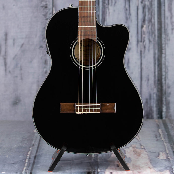Used 2019 Fender CN-140SCE Acoustic/Electric, Black