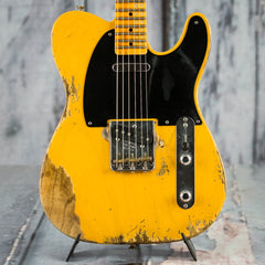 Used 2017 Fender Custom Shop 1953 Heavy Relic Telecaster, Butterscotch Blonde