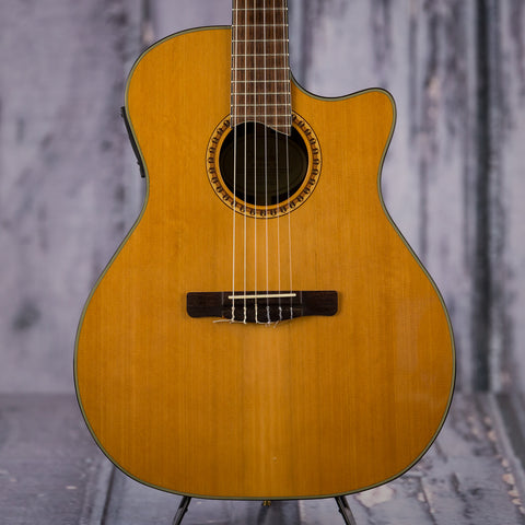 Used Fender GN45SCE nylon string acoustic electric guitar