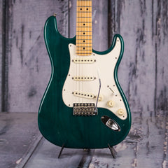 Used 2002 Fender Highway One Stratocaster, Trans Green
