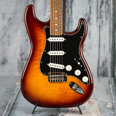Used 2018 Fender Player Straocaster Plus Top, Tobacco Sunburst