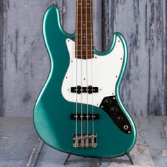 Used Fernandes Offset Bass, Metallic Teal