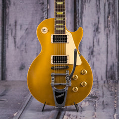 Used 2007 Gibson Les Paul Classic With Bigsby, Goldtop