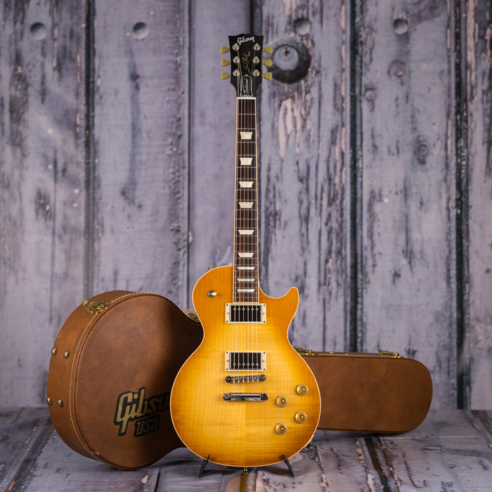Used 2017 Gibson Les Paul Traditional, Honey Burst
