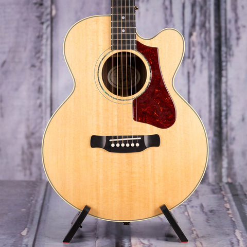 Used Gibson Montana Parlor Rosewood AG Acoustic/Electric Guitar, 2018, Antique Natural, front closeup