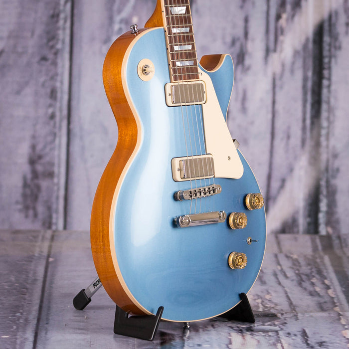 Used 2015 Gibson USA Les Paul Deluxe, Pelham Blue