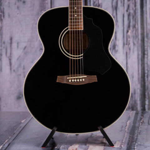 Used Ibanez SGT130 Acoustic Guitar, 2010, Black, front closeup