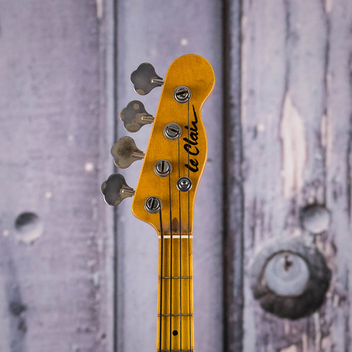 Used 2006 LeClair Tele-Style Relic'50s P-Bass, Three-Tone Sunburst