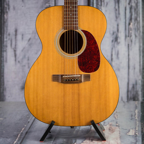 Used Martin 000-1 Auditorium Acoustic/Electric Guitar, Natural, front closeup