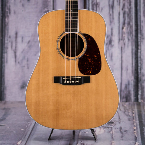 Used Martin D-16RGT Dreadnought Acoustic Guitar, Natural, front closeup