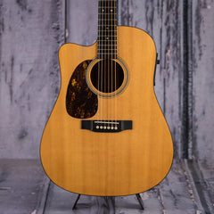 Used 2002 Martin DC16GTE Left Handed Acoustic Electric, Natural