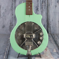 Used 2018 National Reso-Phonic Resonator Guitar, Seafoam Green