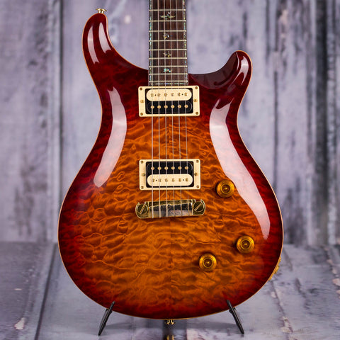 Used Paul Reed Smith Artist III Electric Guitar, 2006, Dark Cherry Burst, front closeup