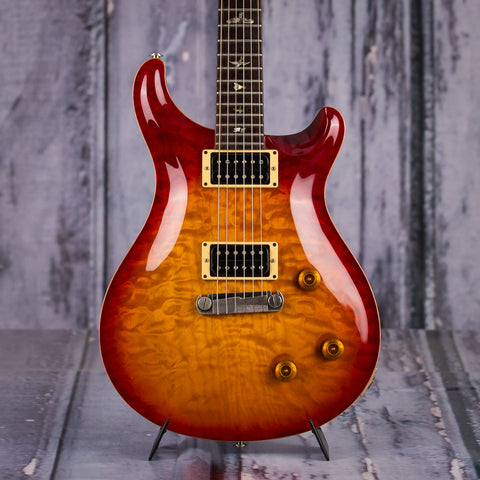 Used Paul Reed Smith Custom 22, 1997, Cherry Sunburst, front closeup