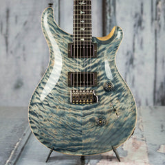 Used 2018 Paul Reed Smith Custom 24 Wood Library 10 Top, Faded Whale Blue