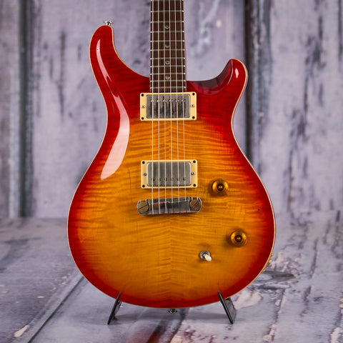 Used Paul Reed Smith McCarty, 1996, Cherry Sunburst, front closeup