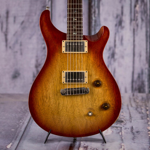Used Paul Reed Smith McCarty Korina Electric Guitar, 2007, Vintage Sunburst, front closeup