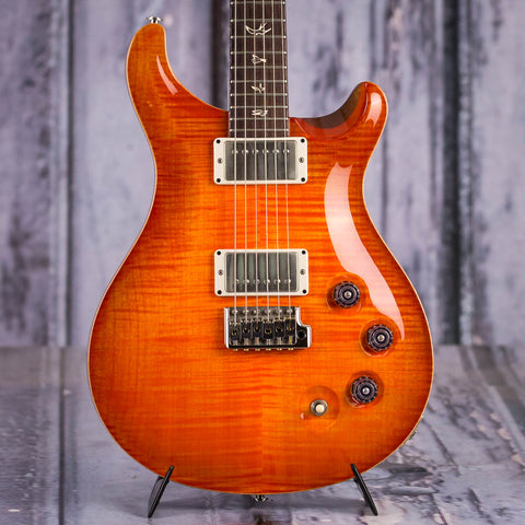 Used Paul Reed Smith Signature DGT Electric Guitar, 2012, Blood Orange, front closeup