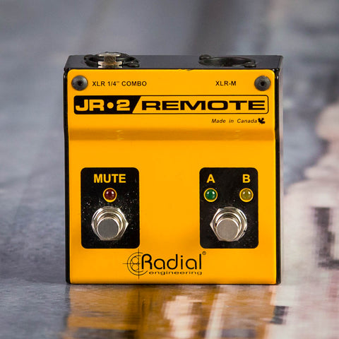 Used Radial JR-2 Remote AB Box Effects, front