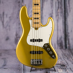 Used Roscoe Classic Custom 5-String Bass, Aztec Gold