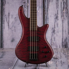 Used 2009 Schecter Stiletto Custom-4 Bass, Red Satin