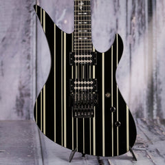 Used 2008 Schecter Synyster Gates Standard, Black w/ White Stripes