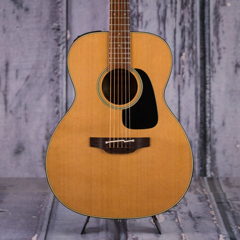 Used Takamine Pro Series P1M Orchestra Model Acoustic Electric Guitar, 2012, Natural, front closeup
