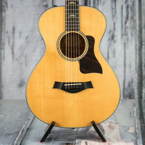 Used Taylor 612e Acoustic/Electric Guitar, 2015, Natural, front closeup