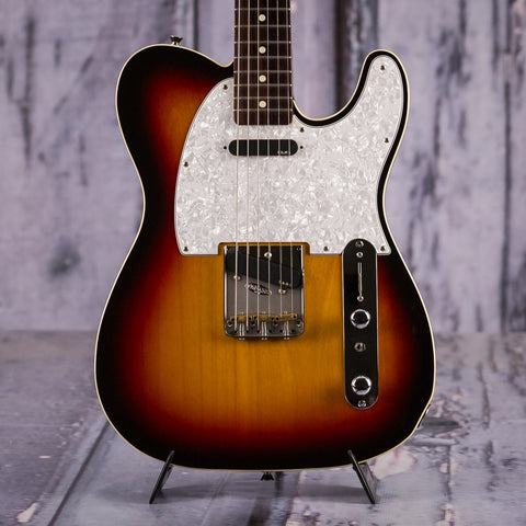 Used Tokai Breezysound T-Style Guitar, Made In Japan, Sunburst, front closeup