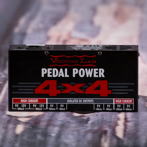 Used Voodoo Lab 4x4 Pedal Power Brick Supply, front