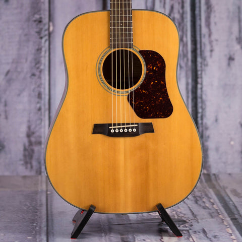 Used Walden D550 Natura Dreadnought Acoustic Guitar, 2011, Natural, front closeup