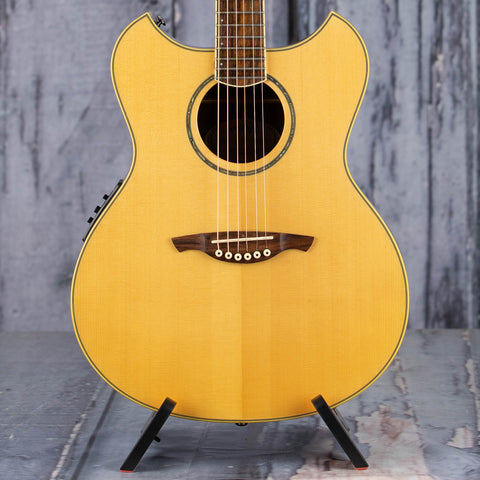 Used Wechter PM-5730E Acoustic/Electric Guitar, Natural, front closeup