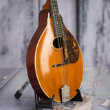Vintage Gibson A-Style Mandolin, 1915, Natural, angle