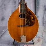 Vintage Gibson A-Style Mandolin, 1915, Natural, front closeup
