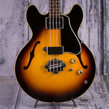 Vintage Gibson EB-2 Electric Bass Guitar, 1966, Sunburst, front closeup