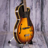 Vintage Gibson ES-140T Short-Scale Hollowbody Electric Guitar, 1959, Sunburst, angle