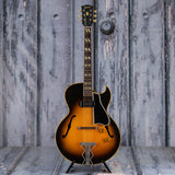 Vintage Gibson ES-175 Semi-Hollowbody Guitar, 1954, Tobacco Sunburst, front