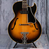 Vintage Gibson ES-175 Semi-Hollowbody Guitar, 1954, Tobacco Sunburst, front closeup