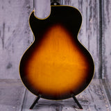 Vintage Gibson ES-175D Hollowbody Electric Guitar, 1968, Sunburst, back closeup