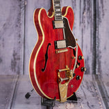 Vintage Gibson ES-335 TDSV Semi-Hollowbody Electric Guitar, 1963, Cherry, angle
