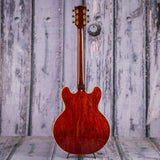 Vintage Gibson ES-335 TDSV Semi-Hollowbody Electric Guitar, 1963, Cherry, back
