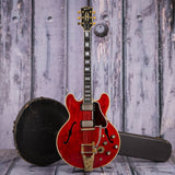 Vintage Gibson ES-335 TDSV Semi-Hollowbody Electric Guitar, 1963, Cherry, case