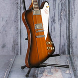 Vintage Gibson Firebird V Electric Guitar, 1993, Tobacco Sunburst, angle
